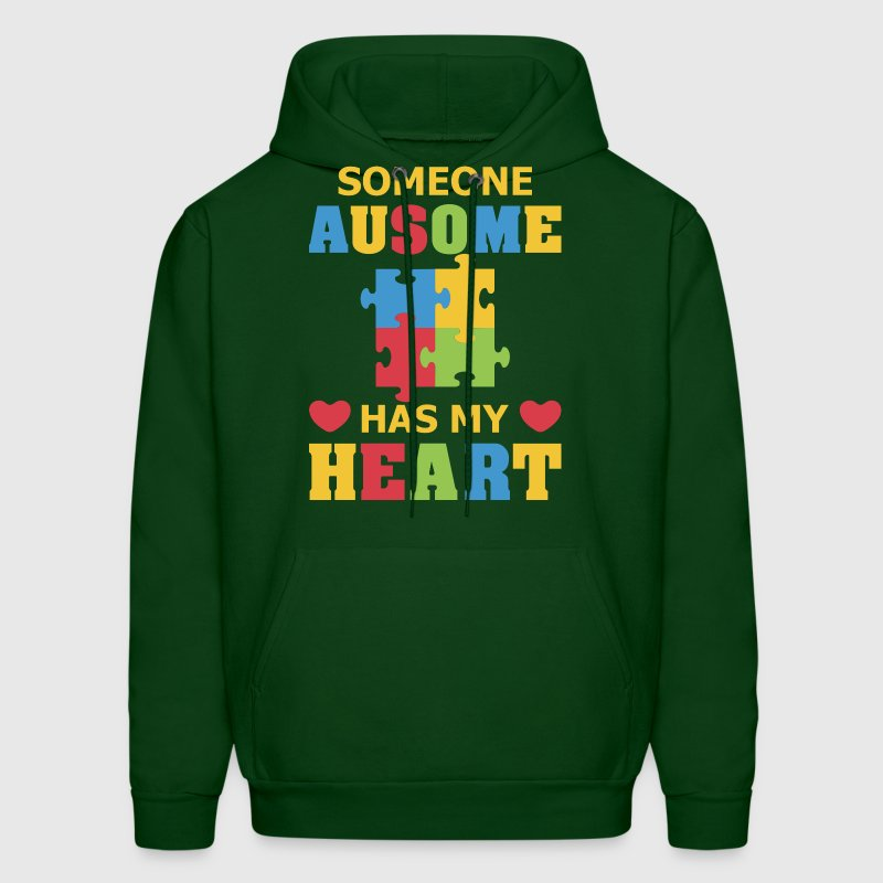 Some Ausome Has My Heart - Men's Hoodie