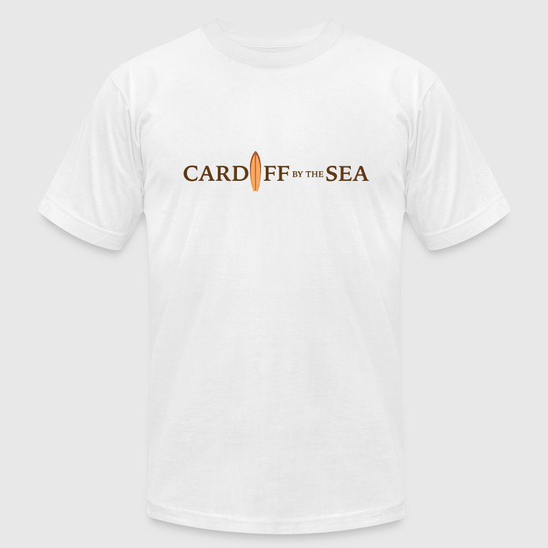 Cardiff by the Sea California T-Shirts - Men's T-Shirt by American Apparel