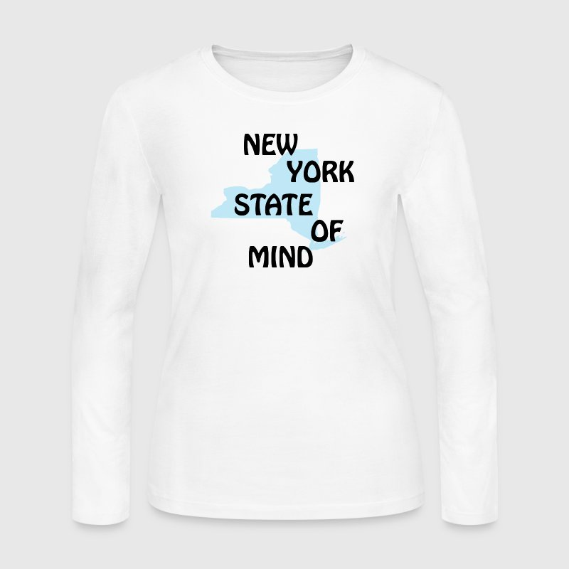 NY New York State of Mind Long Sleeve Shirts - Women's Long Sleeve Jersey T-Shirt