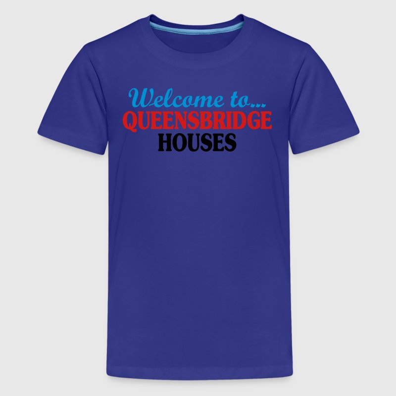 Welcome to... Queensbridge Houses Kids' Shirts - Kids' Premium T-Shirt