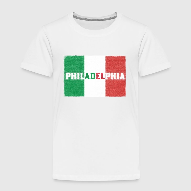 Philly Philadelphia Italian Flag Baby & Toddler Shirts - Toddler Premium T-Shirt