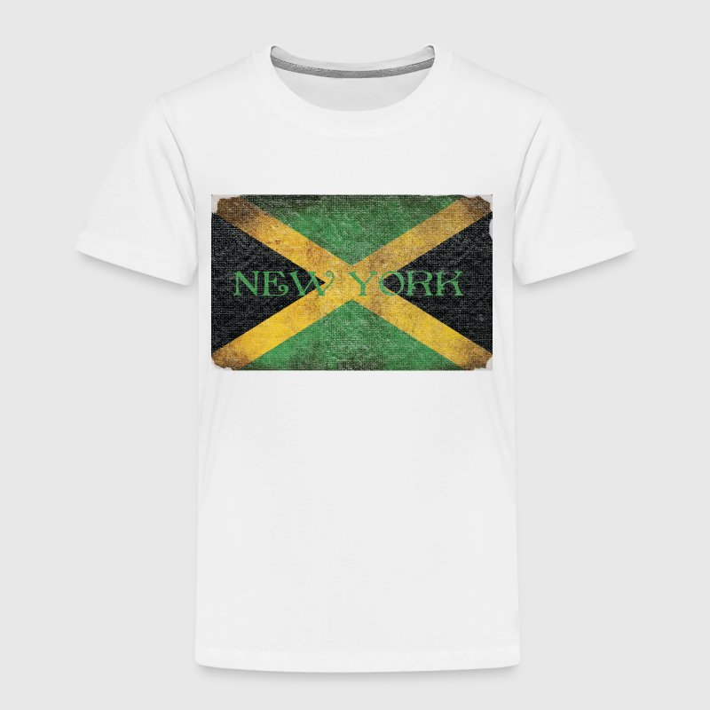 New York Jamaican Flag Baby & Toddler Shirts - Toddler Premium T-Shirt