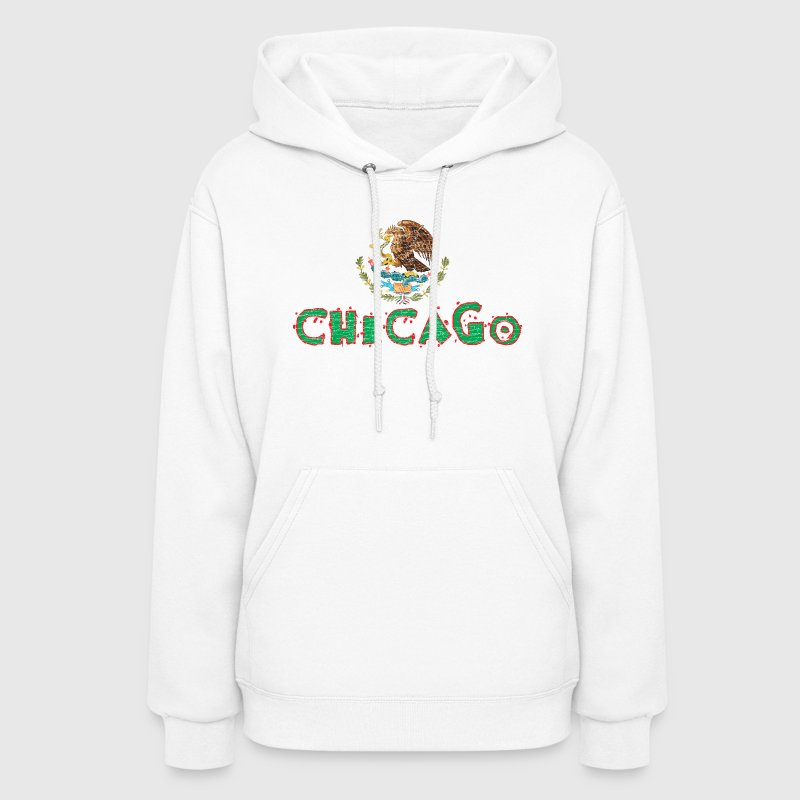 Chicago Mexican Flag Hoodies - Women's Hoodie