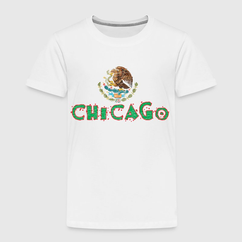 Chicago Mexican Flag Baby & Toddler Shirts - Toddler Premium T-Shirt