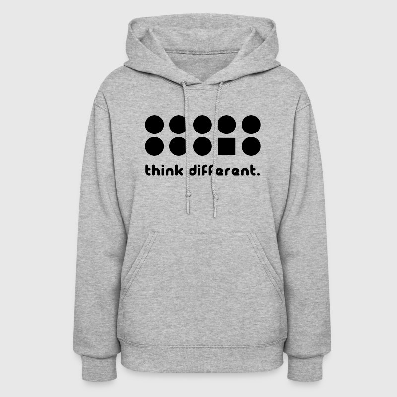 THINK DIFFERENT Hoodies - Women's Hoodie