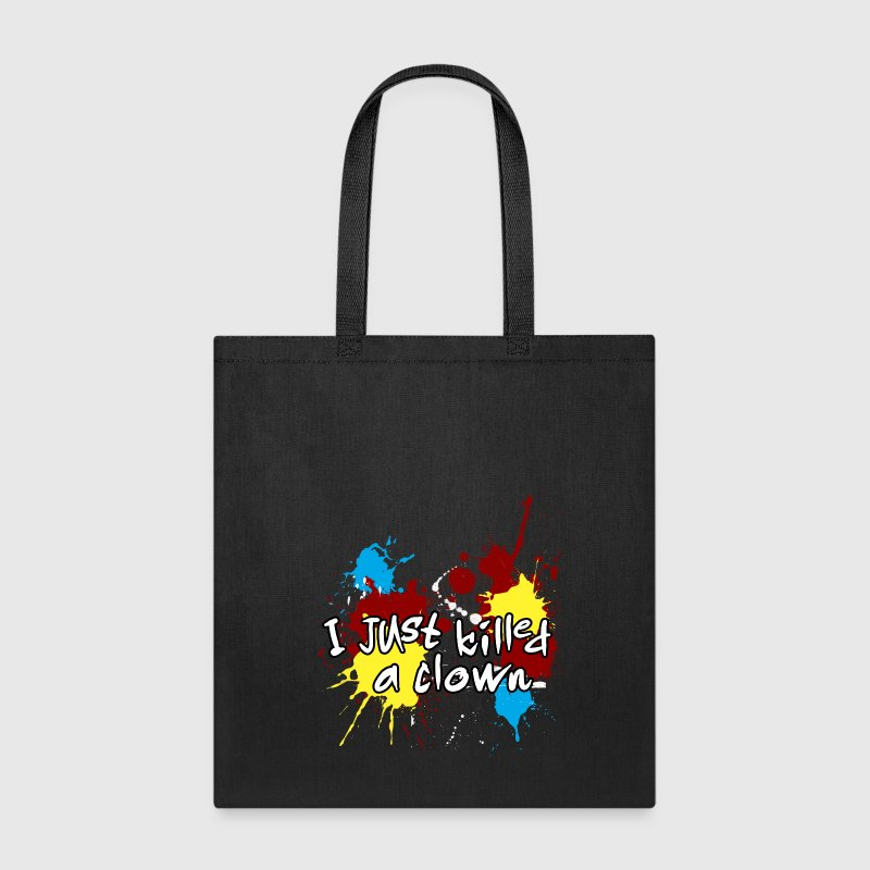 I just killed a clown Bags & backpacks - Tote Bag
