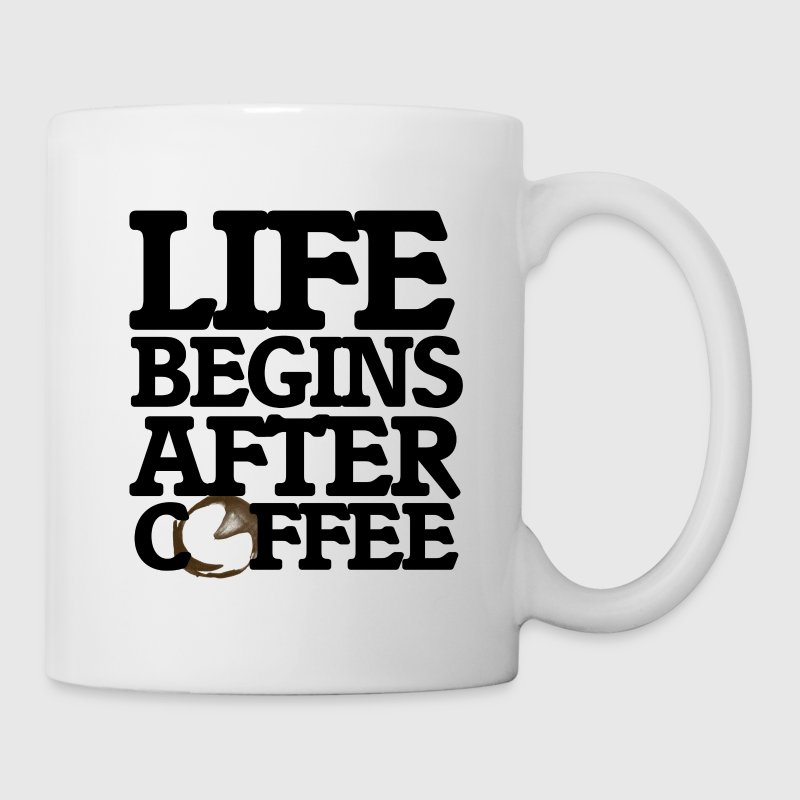 Life begins after coffee - Coffee/Tea Mug