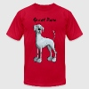 Funny Great Dane  T-Shirts - Men's T-Shirt by American Apparel