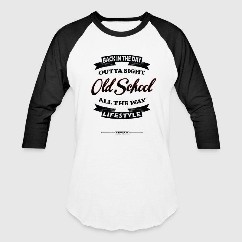 OLD SCHOOL LIFESTYLE T-Shirts - Baseball T-Shirt