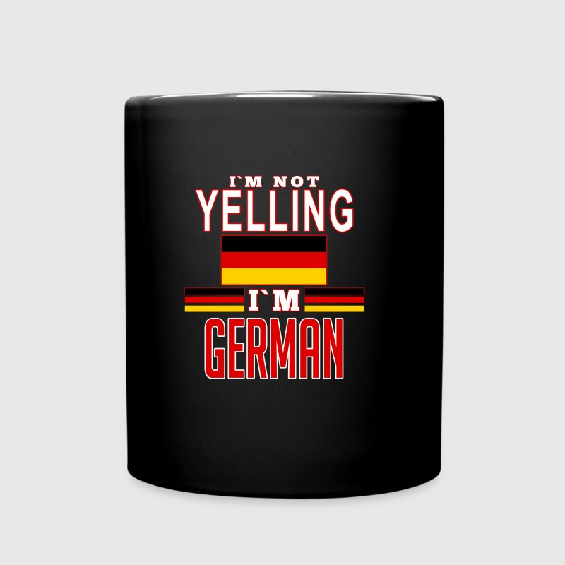 yelling german Mugs & Drinkware - Full Color Mug