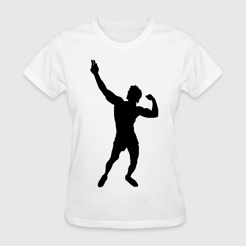 Ladies T-Shirt Zyzz Pose - Women's T-Shirt