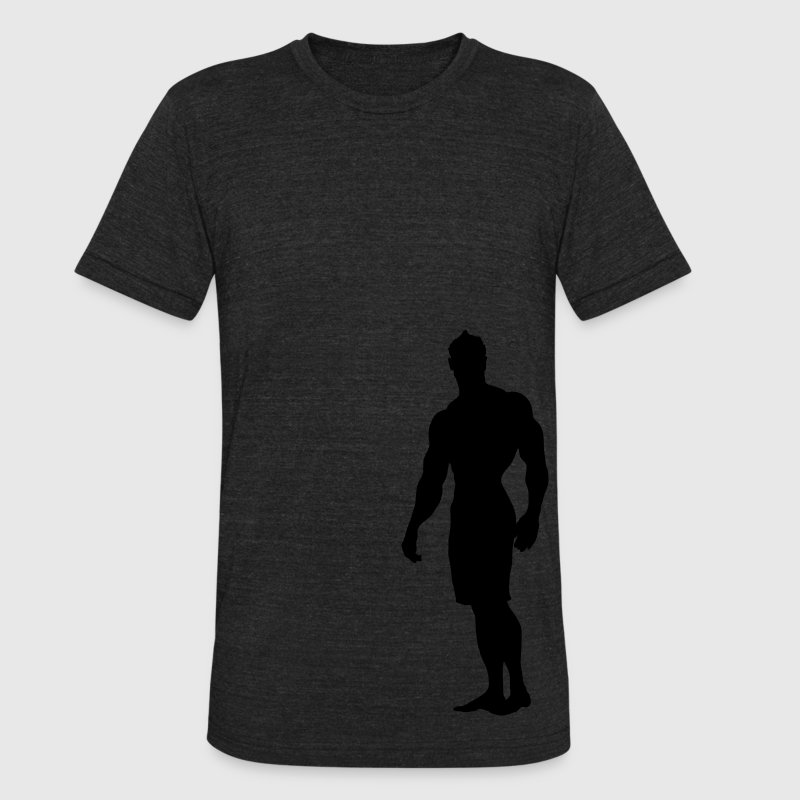 Mens Physique T - Unisex Tri-Blend T-Shirt by American Apparel