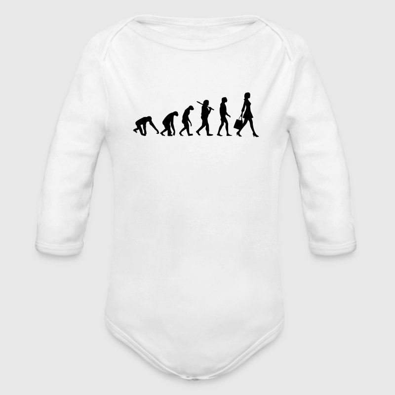 WOMAN EVOLUTION Baby & Toddler Shirts - Long Sleeve Baby Bodysuit