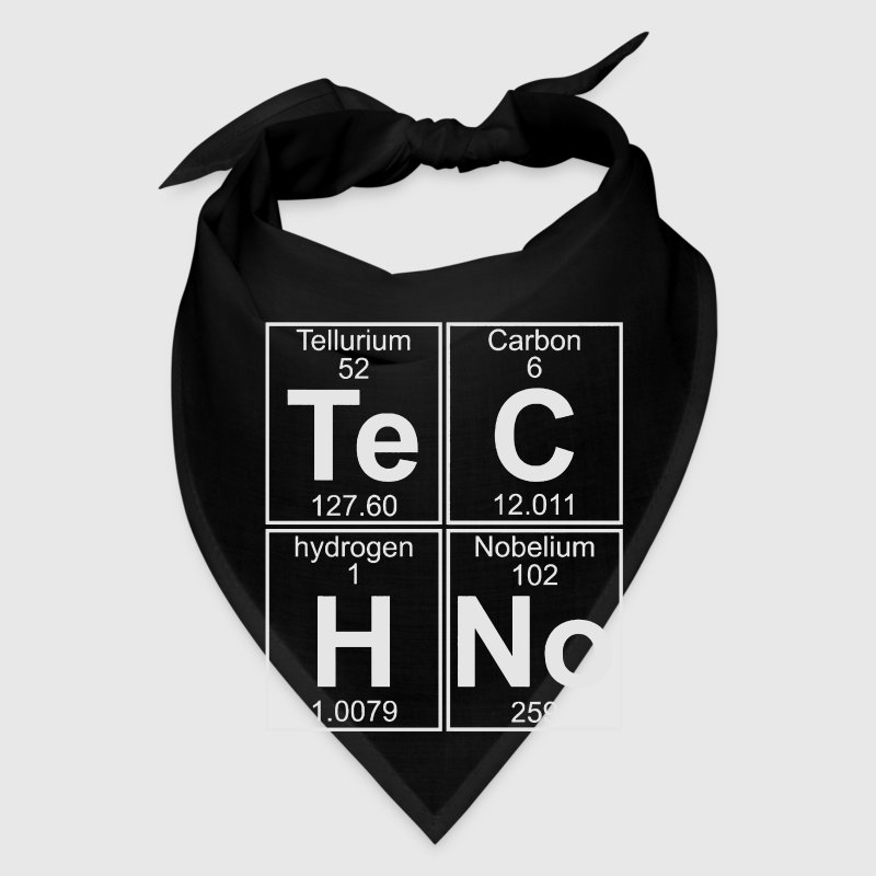 TECHNO PERIODIC TABLE Caps - Bandana