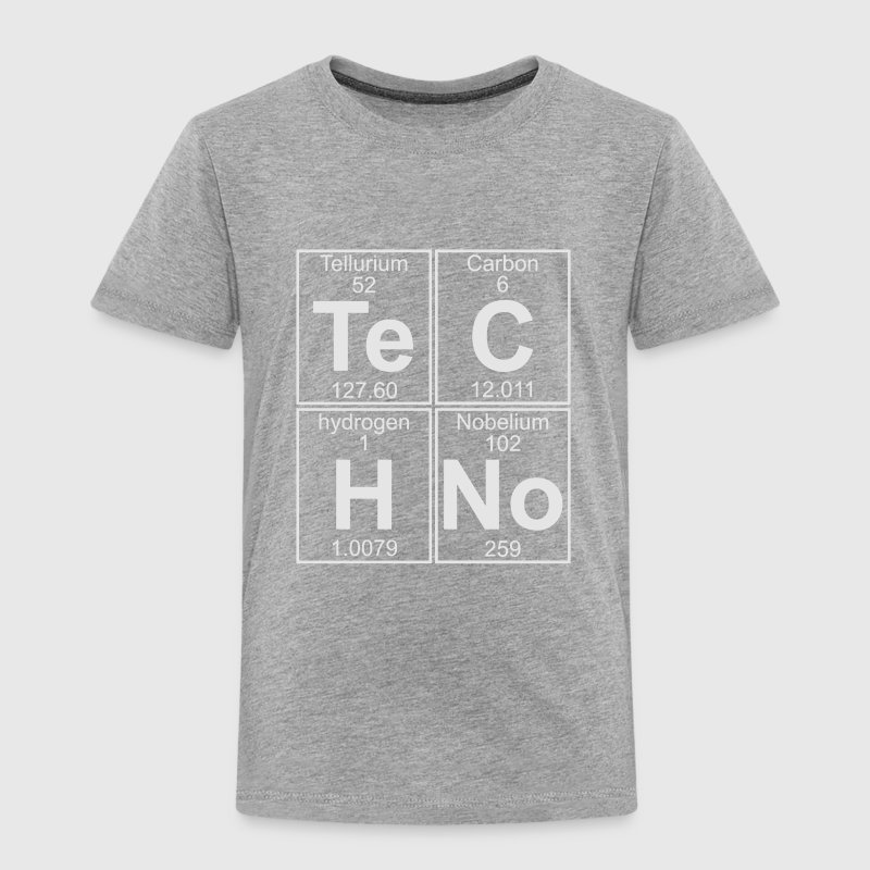 Techno periodic table t shirt spreadshirt techno periodic table baby toddler shirts toddler premium t shirt urtaz Images