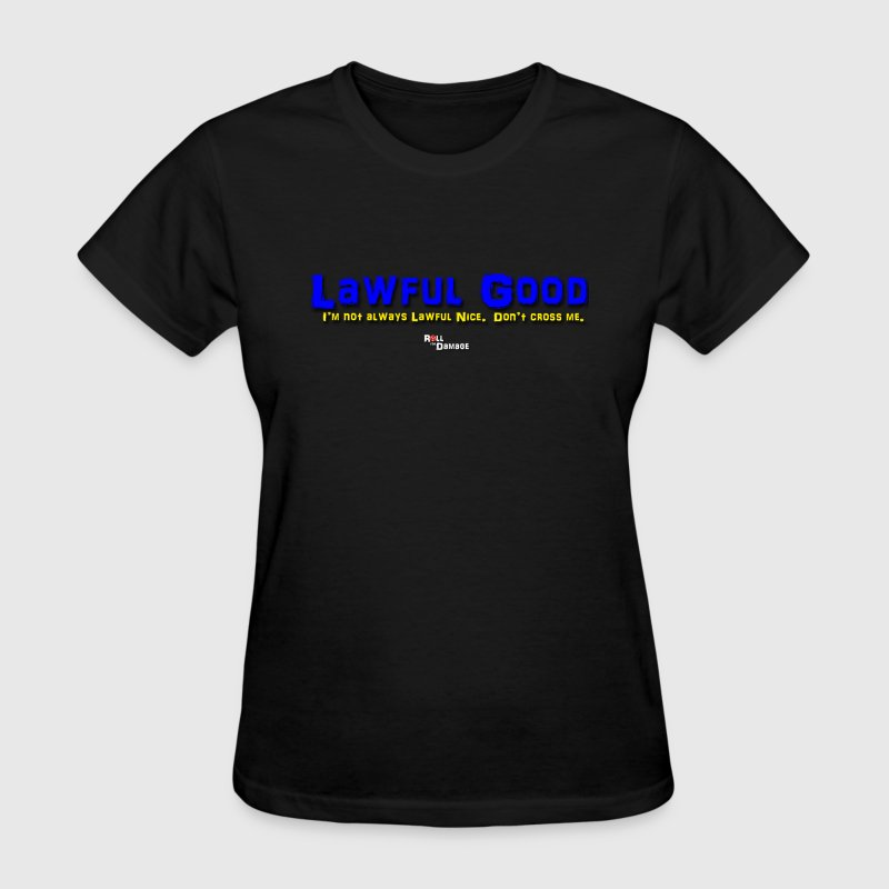 Lawful Good Alignment Women's T-Shirts - Women's T-Shirt