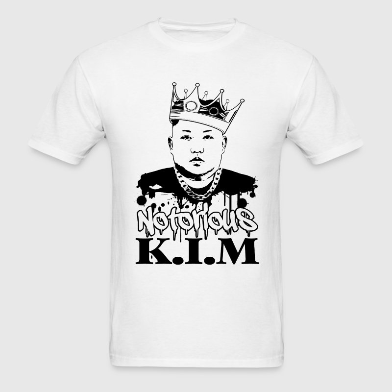 Notorious K.I.M Jong Un T-Shirts - Men's T-Shirt
