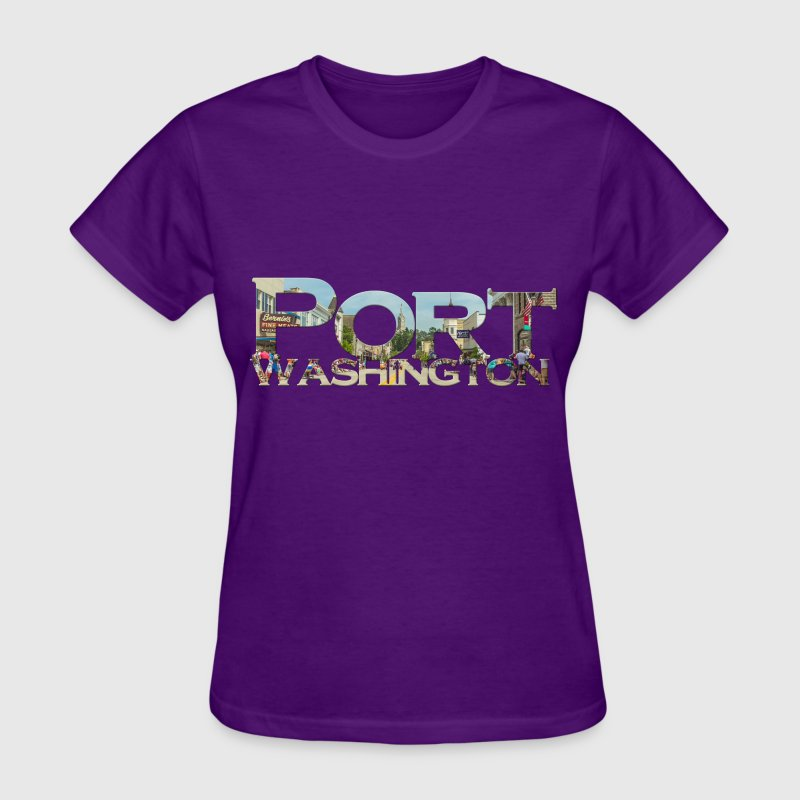 Port Washington Main Street Mens T Shirt - Women's T-Shirt