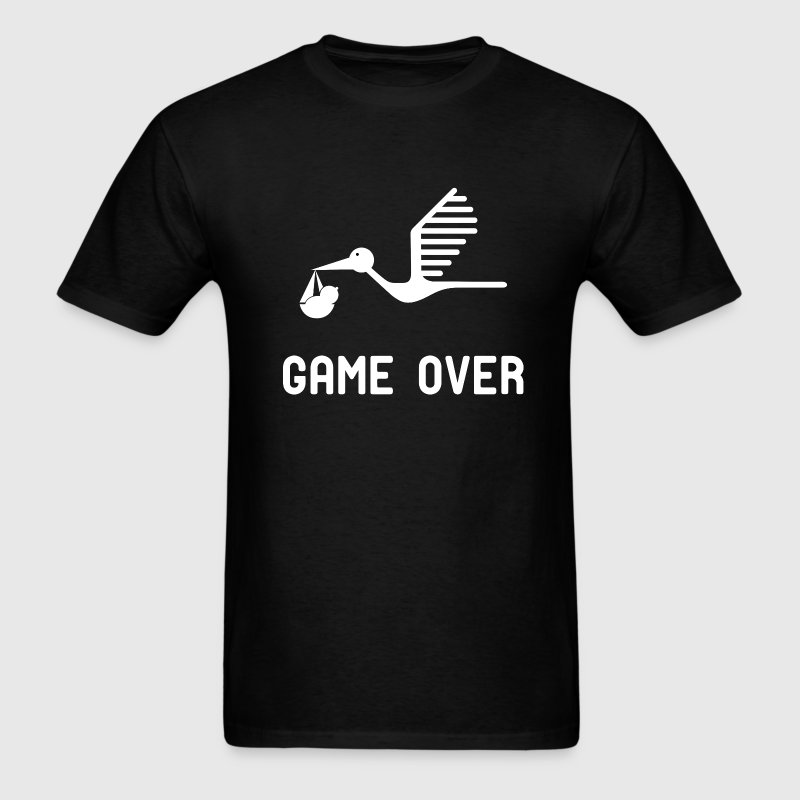 Having a baby game over t shirt - Men's T-Shirt