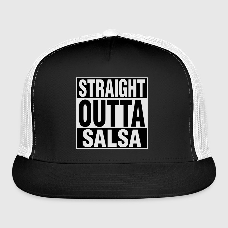 Straight Outta Salsa Caps - Trucker Cap