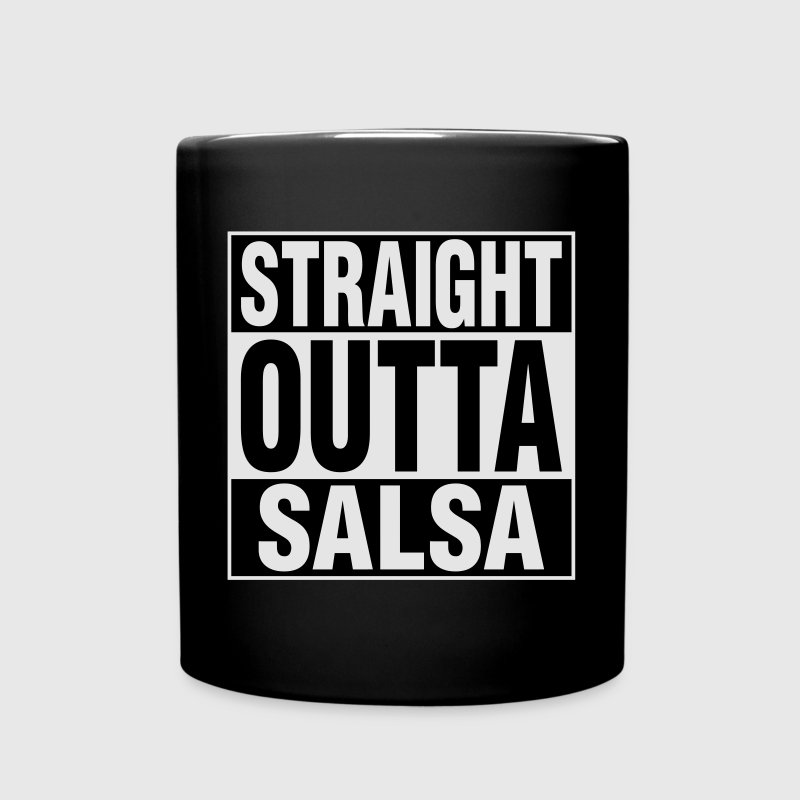 Straight Outta Salsa Mugs & Drinkware - Full Color Mug