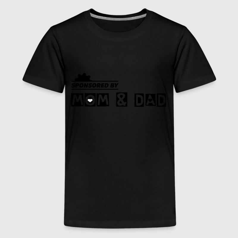 Sponsored by mom and dad - kids - Kids' Premium T-Shirt