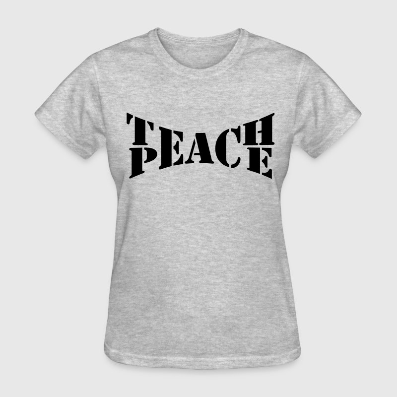 Teach Peace Women's T-Shirts - Women's T-Shirt