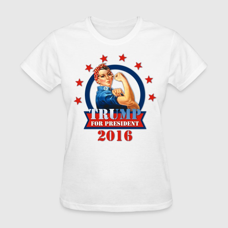 Rosie Riveter For Trump Women's T-Shirts - Women's T-Shirt