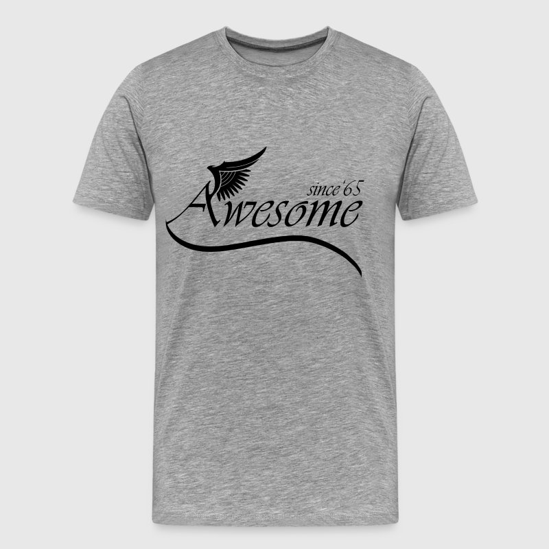 Awesome SINCE 1965 T-Shirts - Men's Premium T-Shirt