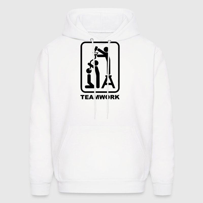 ALCOHOL TEAMWORK Hoodies - Men's Hoodie