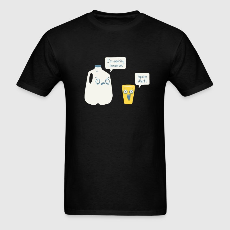 Funny milk joke t shirt - Men's T-Shirt