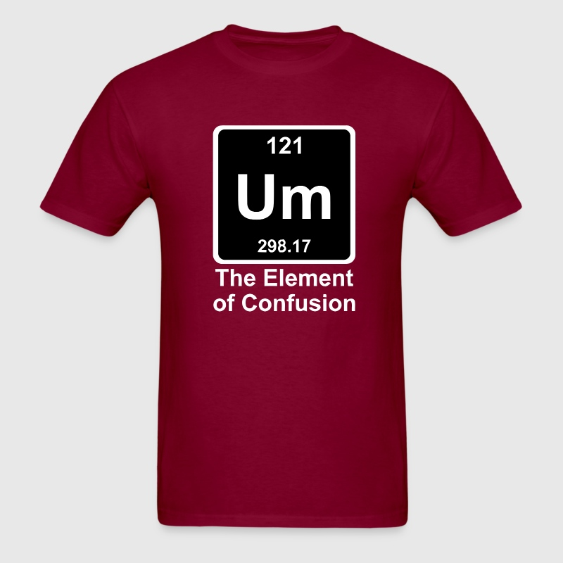 Funny periodic table element t shirt spreadshirt urtaz