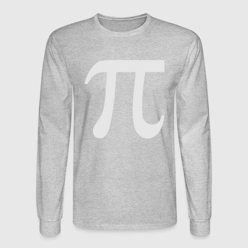 Pi Mathematics Long Sleeve Shirts - Men's Long Sleeve T-Shirt