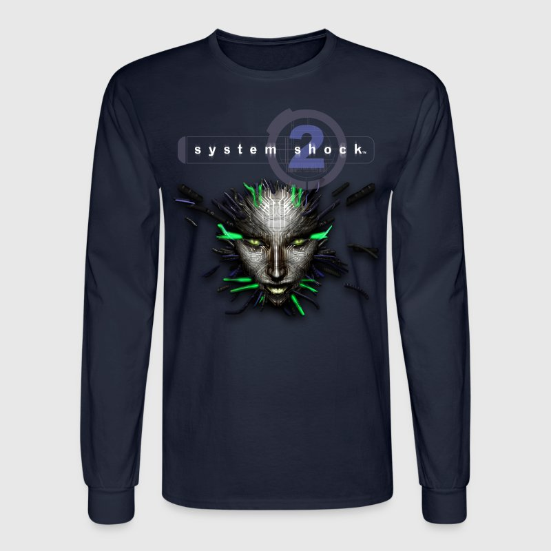 System Shock 2 Long Sleeve - Men's Long Sleeve T-Shirt