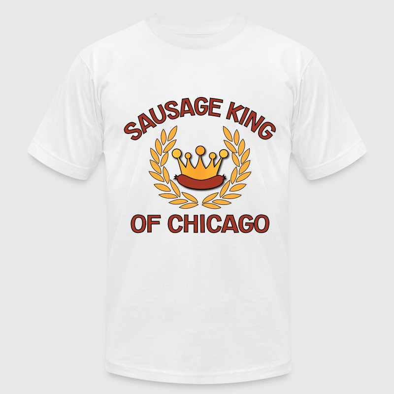 Sausage King Of Chicago.png T-Shirts - Men's T-Shirt by American Apparel