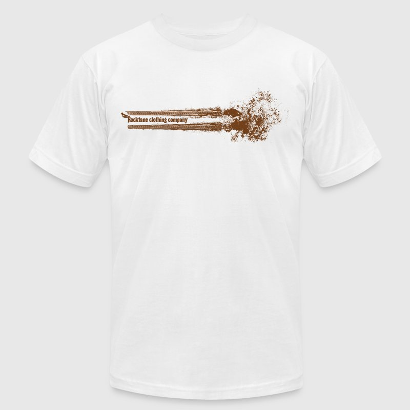 Men's Tough Mudder (Gold) by Rocktane Clothing - Men's T-Shirt by American Apparel
