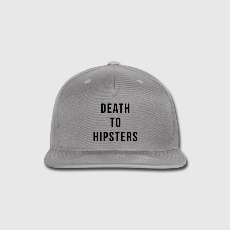 Death To Hipsters Caps - Snap-back Baseball Cap