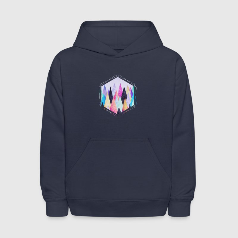 Hipster triangles (geometry) Abstract Mountains  Sweatshirts - Kids' Hoodie