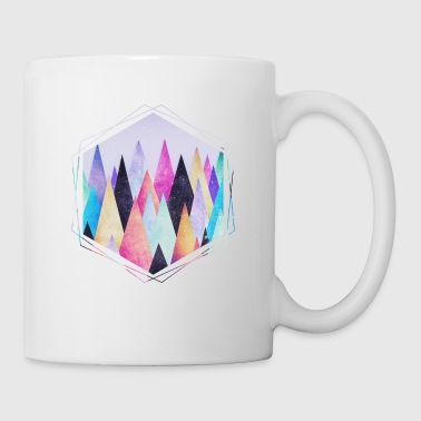 Hipster triangles (geometry) Abstract Mountains  Bags & backpacks - Coffee/Tea Mug