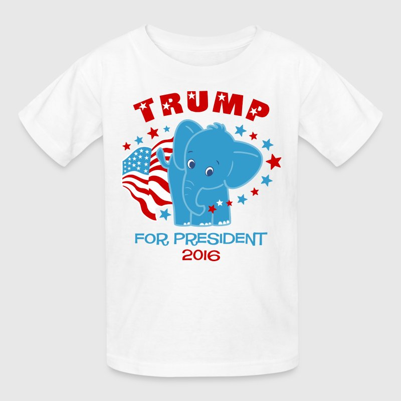 Trump Shirts - Baby Elephant For Trump Kids' Shirts - Kids' T-Shirt