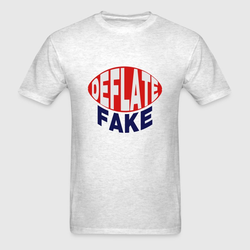 Deflate Fake Parody T-Shirts - Men's T-Shirt