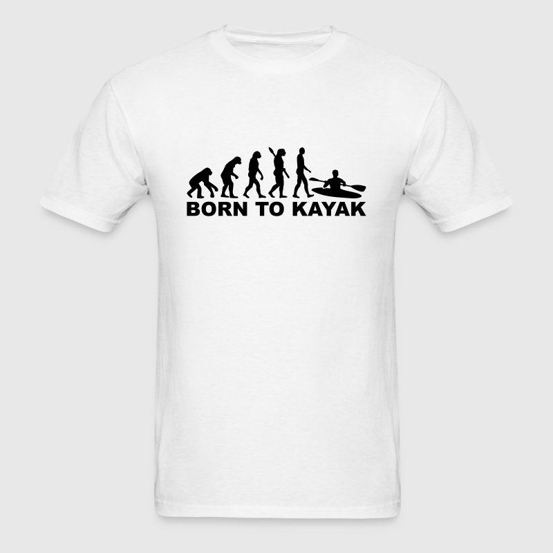 Evolution Kayak T-Shirts - Men's T-Shirt