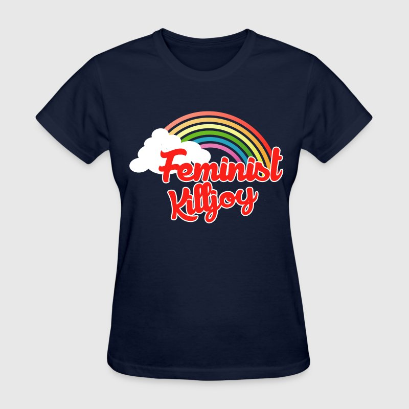 Feminist Killjoy rainbow - Women's T-Shirt
