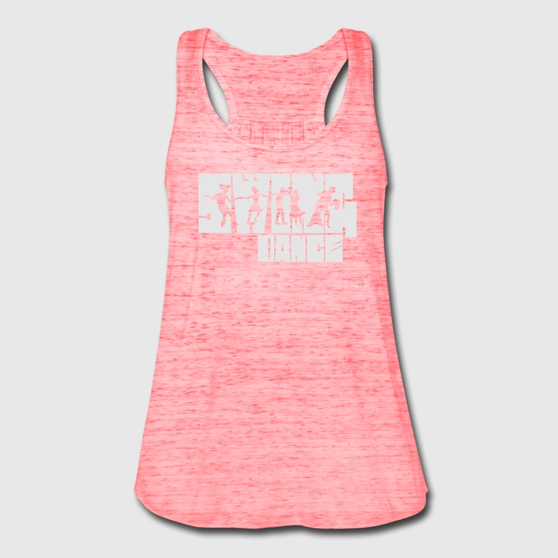 Swing Dance Tanks - Women's Flowy Tank Top by Bella