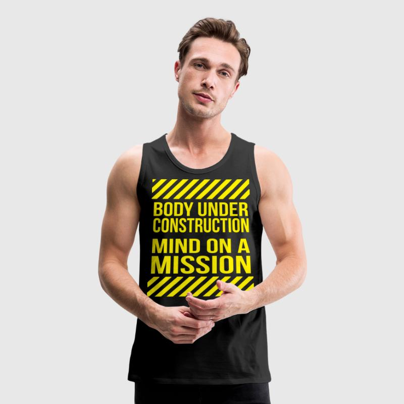 Body Under Construction Tank Tops - Men's Premium Tank
