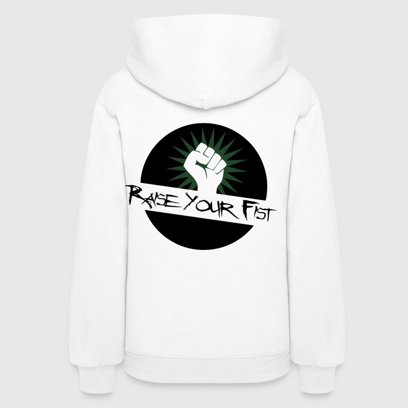 Raise Your Fist For Angerfist Hoodies - Women's Hoodie