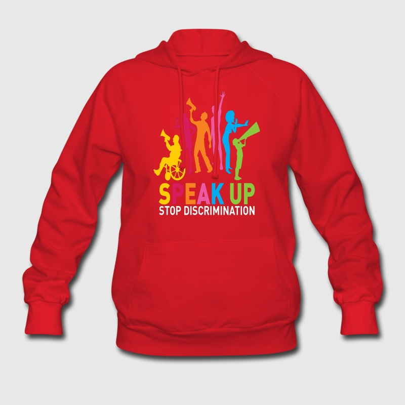 speak up Hoodies - Women's Hoodie