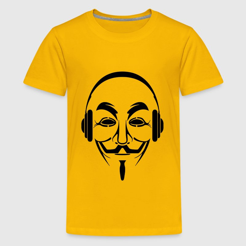 anonymous dj - Kids' Premium T-Shirt