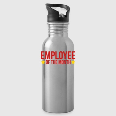 Employee Of The Month  Caps - Water Bottle
