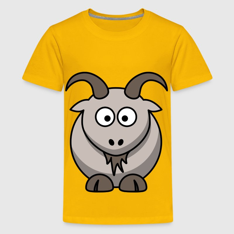 Cartoon goat - Kids' Premium T-Shirt